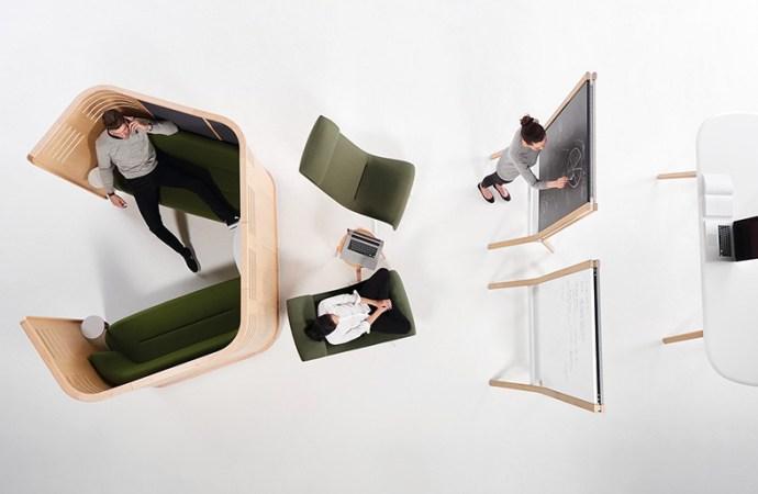 'Zones': la evolución del espacio y el mobiliario de oficinas