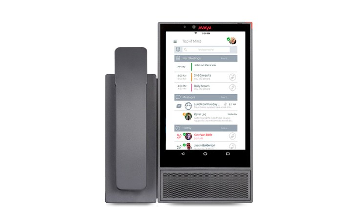 Avaya ingresa en un nuevo mercado de teléfonos con Protocolo SIP Abierto