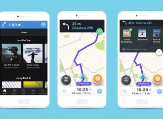 Waze te permite navegar mientras escuchas música en Spotify