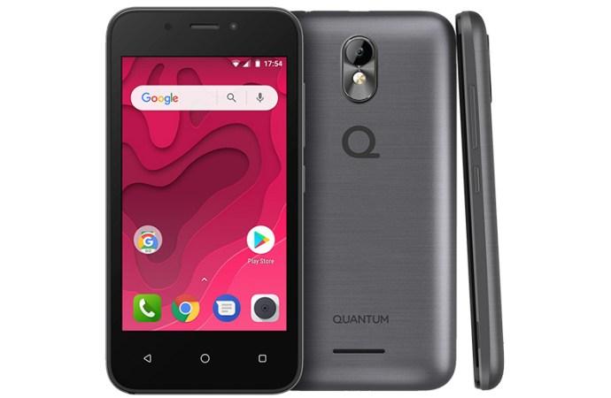 El primer celular con Android Go en Argentina se llama Quantum Mini