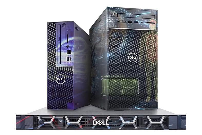 Las workstations de nivel inicial de Dell Precision rinden potentemente con menor espacio físico