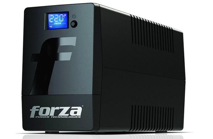 Forza presentó nuevas UPS para estar prevenido frente a los cortes de luz