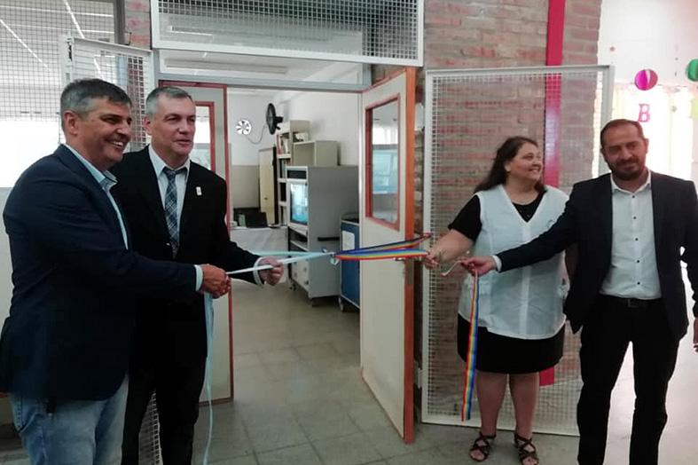 Inauguración del servicio de internet en escuelas rurales de Córdoba
