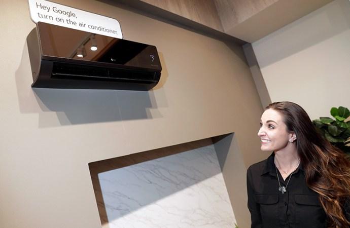 LG presentó nuevos dispositivos para el hogar con reconocimiento de voz y manos libres