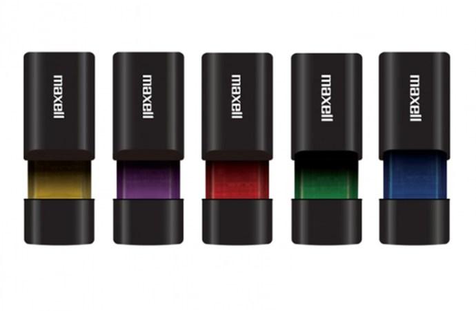 Maxell presentó su nueva línea de memorias USB y microSD