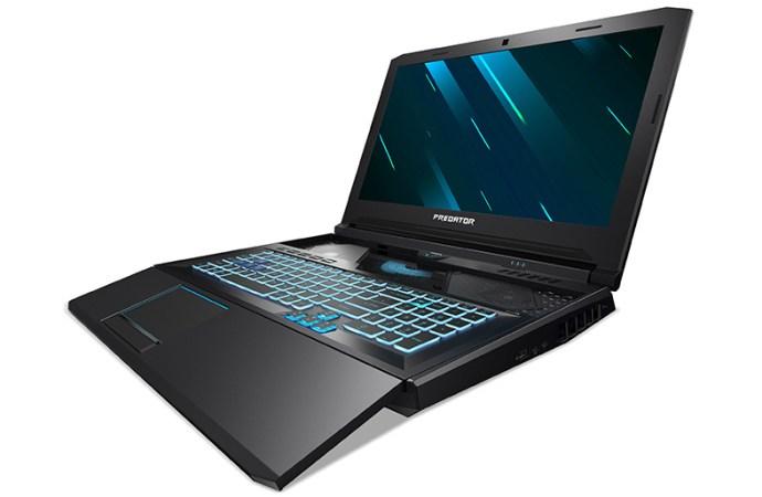Acer presenta la notebook Predator Helios 700