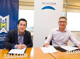 Telecom invirtió en Malvinas Argentinas para impulsar la conectividad