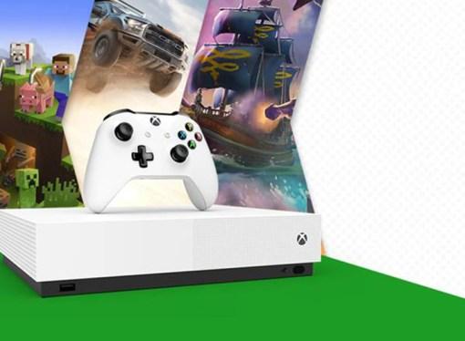 Microsoft presentó la Xbox One S All-Digital Edition