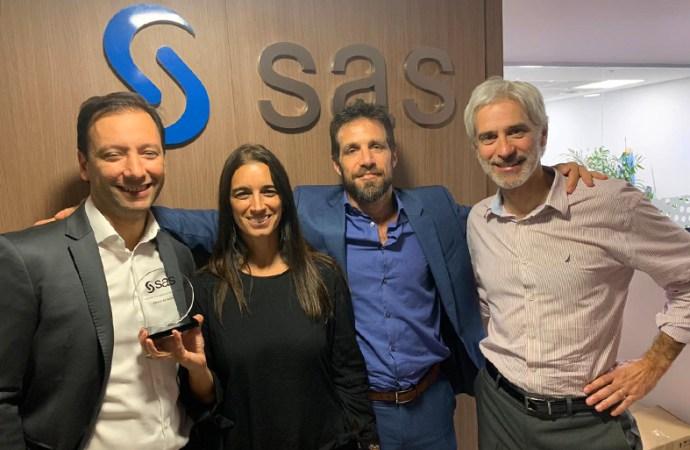 SAS destacó a ERGO como partner del año