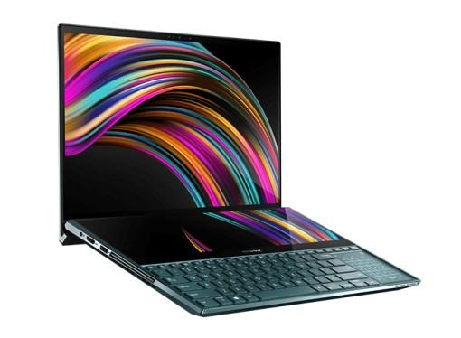 Asus presentó ZenBook Pro Duo, la notebook con doble pantalla