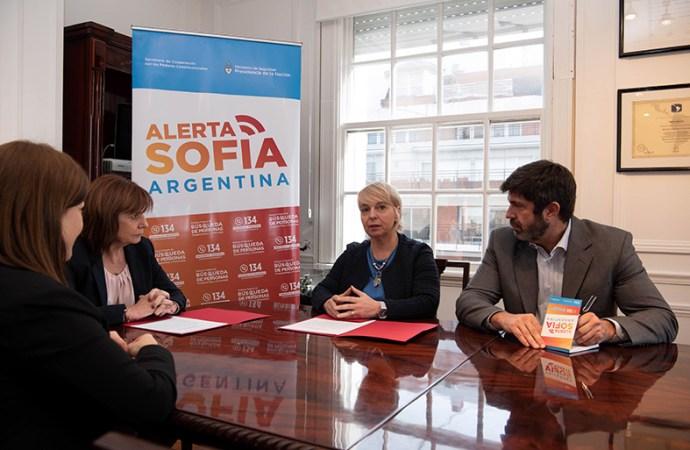 """Reunión de trabajo del Comité para la implementación del sistema """"Alerta Sofía"""""""