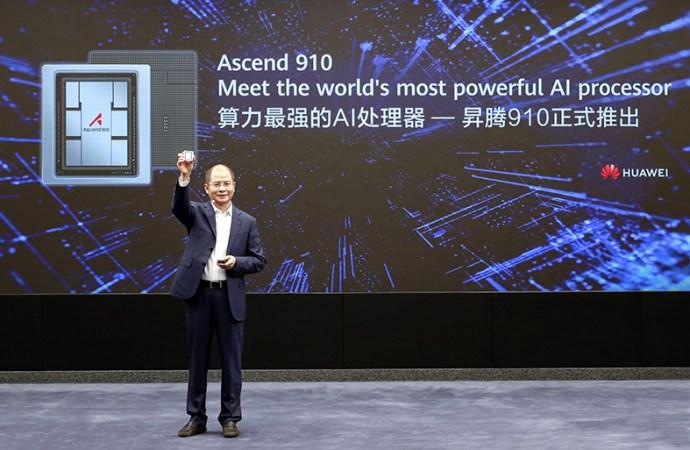 Huawei lanzó el Ascend 910 y MindSpore
