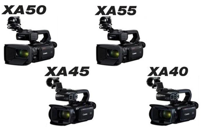 Canon suma 4 videocámaras profesionales a la serie XA
