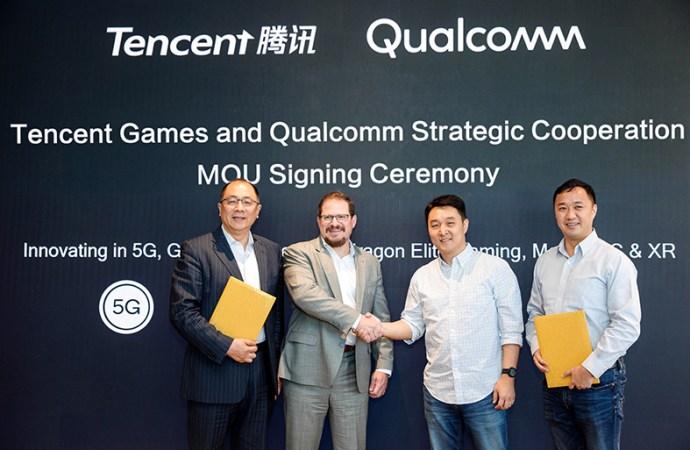 Qualcomm firmó una cooperación estratégica con Tencent Games