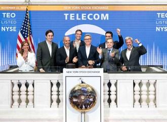 Telecom Argentina celebra el 25 aniversario de su cotización en la Bolsa de Nueva York