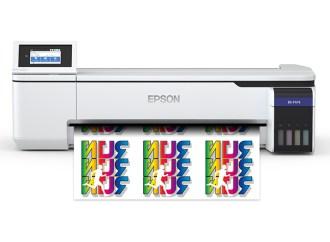 Epson presentó impresora de sublimación de tinta de 24 pulgadas para escritorio