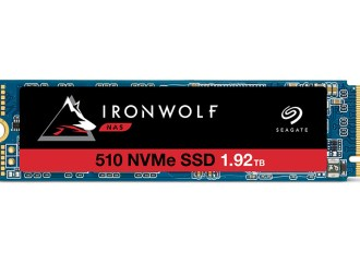 Seagate lanzó IronWolf 510 SSD PCIe Gen3