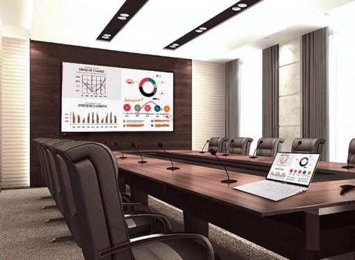 LG presentó su primera pantalla interactiva para entornos educativos