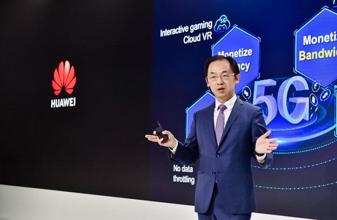Huawei lanzó una nueva línea de productos y soluciones de red 5G