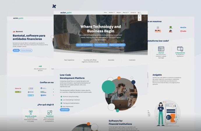 Accion Point renovó su presencia online con sitio corporativo