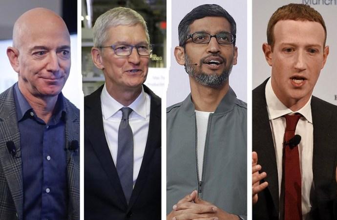 Amazon, Apple, Facebook y Google dueños de todo