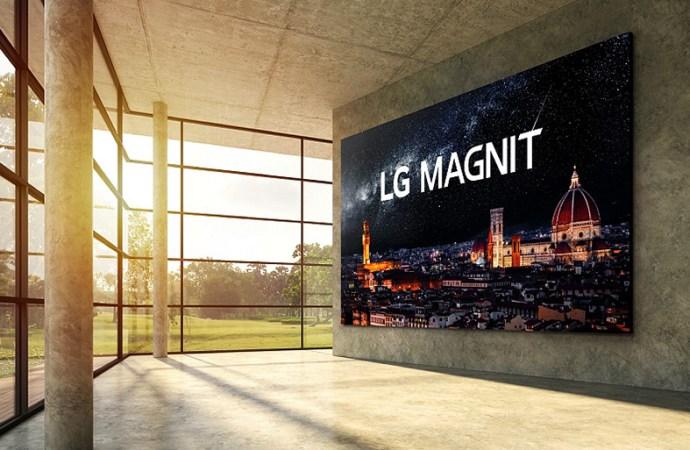 LG presentí Magnit, su primera pantalla micro LED