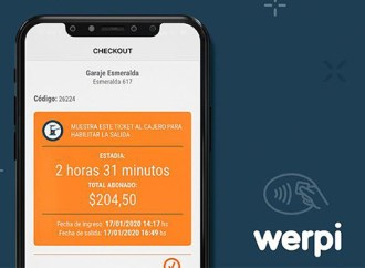Werpi ya permite el contactless parking