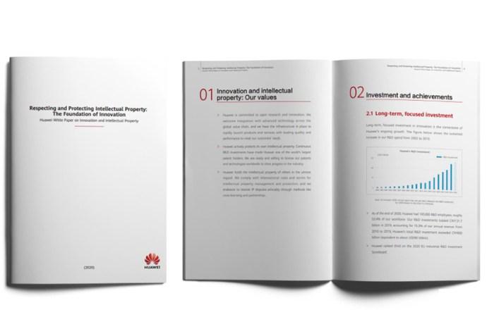 Compromiso con propiedad intelectual fundamenta la innovación de Huawei
