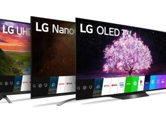 LG Argentina presentó su línea de TVs 2021
