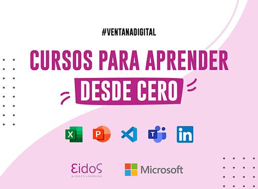 Programa de Microsoft y EIDOS de capacitación en habilidades digitales