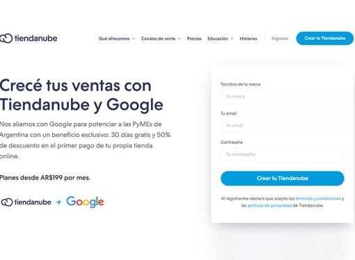 Tiendanube y Google potencian el crecimiento de las pymes argentinas