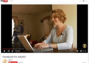 Adult Facebook user
