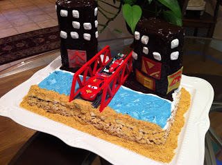 RECIPE: Allergy Free Cars 2 Cake