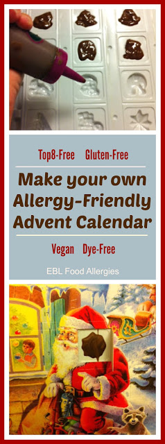 Make your own Allergy-Friendly Advent Calendar!!! Top8-Free, Vegan, Gluten-Free