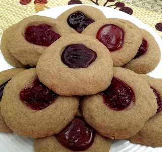 RECIPE: SunButter® Thumbprint Cookies