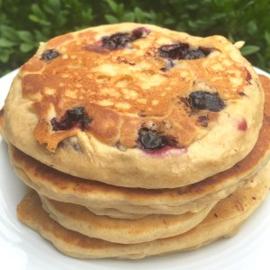 Vegan Pancakes, can be top8free and glutenfree