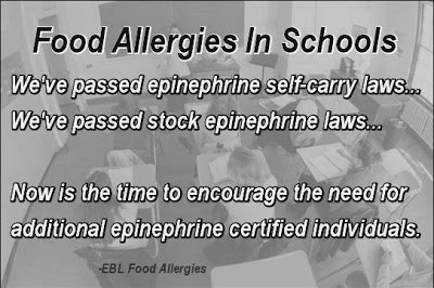 Encourage the need for additional epinephrine certifications!