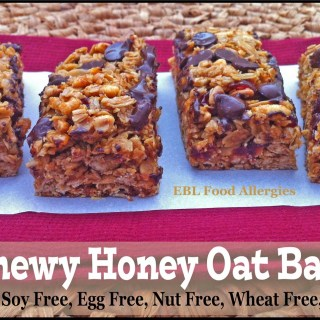 Chewy Honey Oat Bars
