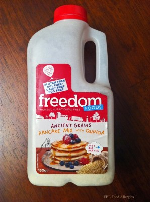 Freedom Foods: Ancient Grains Pancake Mix with Quinoa