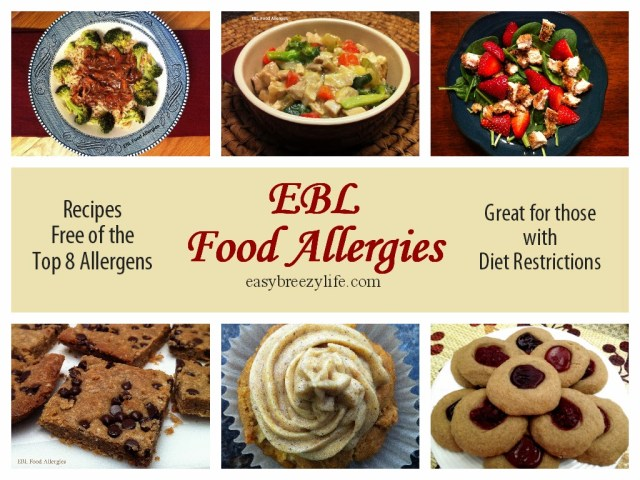 Go to EBL Food Allergies easybreezylife.com for great recipes that are top8free and glutenfree