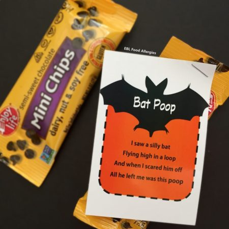 Enjoy Life Foods Snack Packs Bat Poop Printable