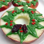 Christmas Wreath Apple Slices