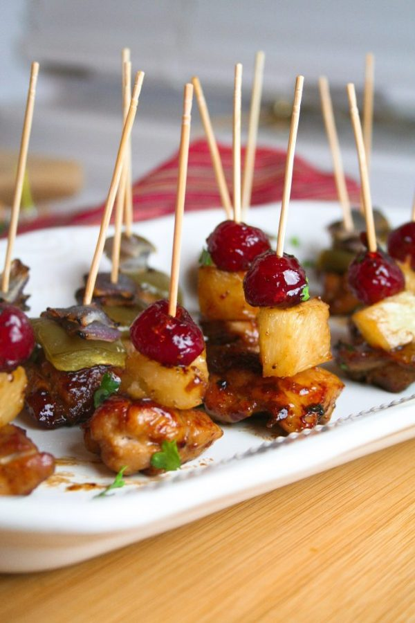 Sticky Sweet Chicken Appetizer - dairy, egg, nut, gluten free