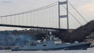 eBlue_economy_صور.. اصطدام سفينة بضائع بالشاطئ في إسطنبول وإغلاق مضيق البوسفور