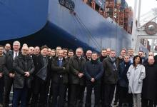 eBlue_economy_ CMA CGM and the Port of Dunkirk inaugurate