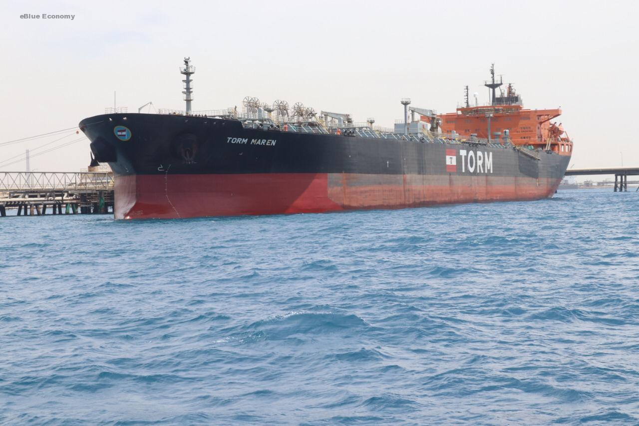 eBlue_economy_ميناء الملك فهد الصناعي يستقبل أكبر سفينة بتروكيماويات ترسو على محطة سامرف في تاريخها