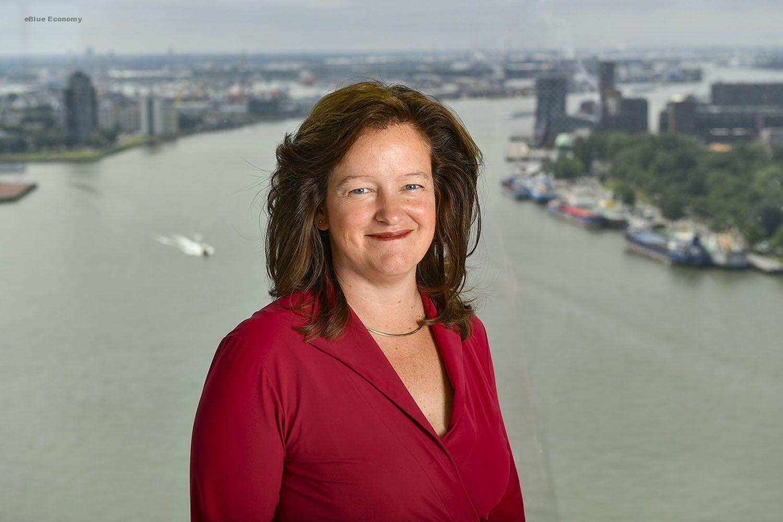 eBlue_economy_Vivienne de Leeuw_CFO Port of Rotterdam Authority