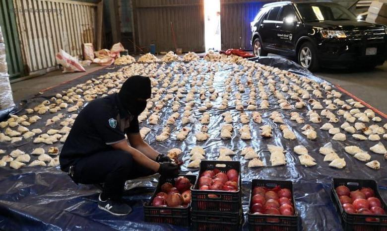 eBlue_economy_السعودية تحظر خضراوات وفواكه لبنان بعد محاولة تهريب مخدرات.