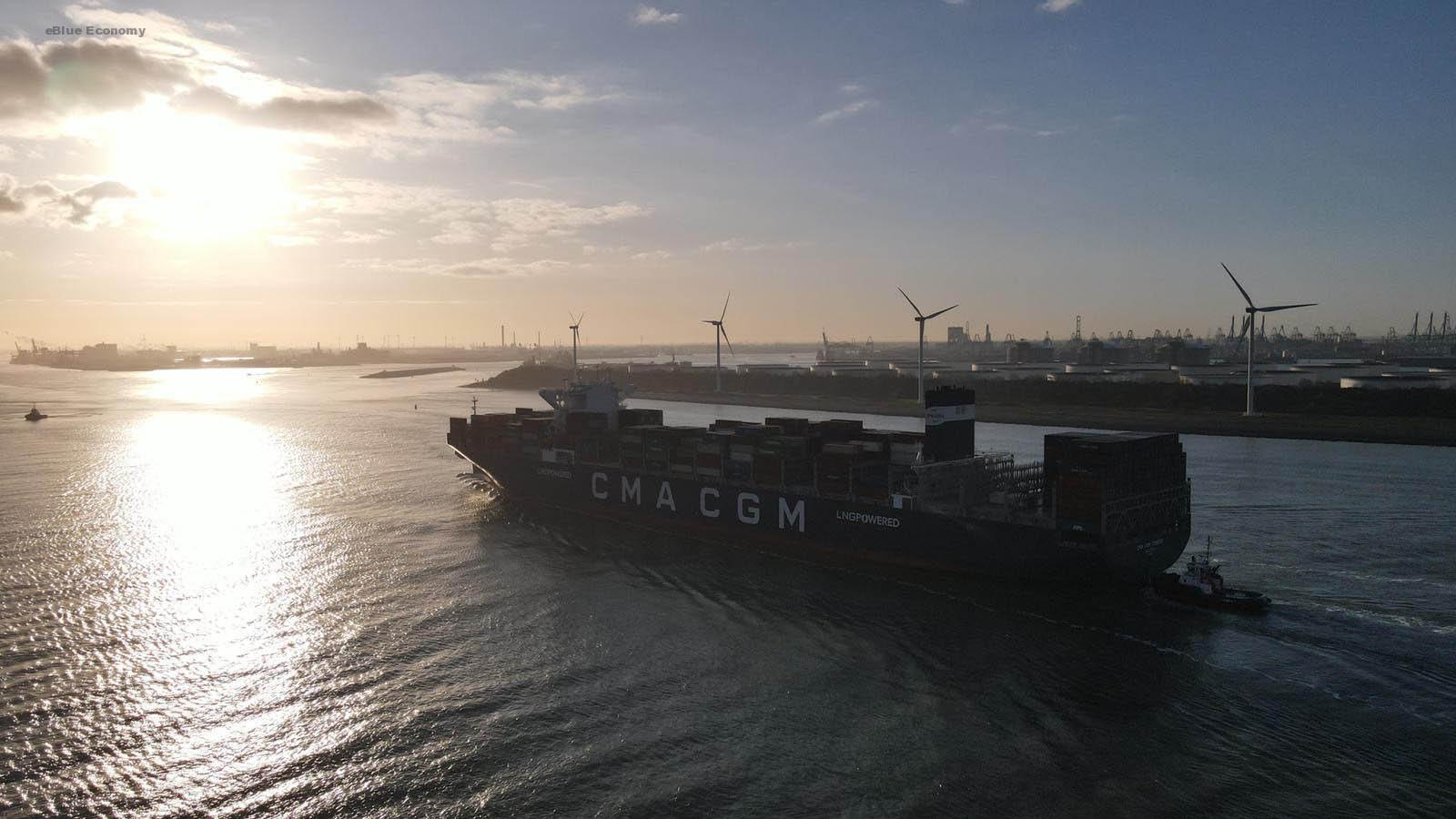 eBlue_economy_CMA CGM Group announces the order of 22 new vessels