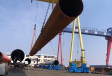 eBlue_economy_The Length Of Offshore Wind Power Monopile Undertaken